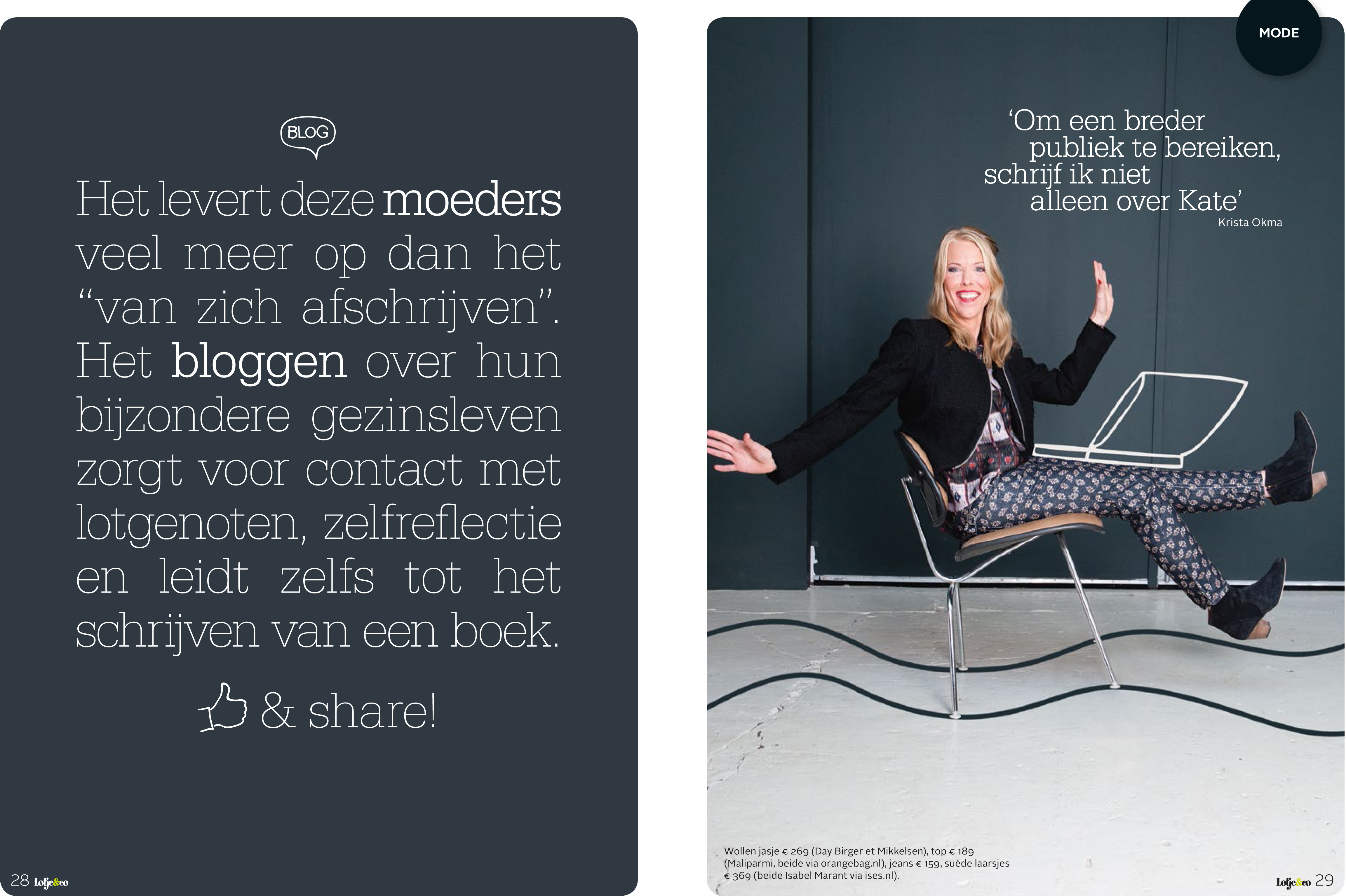 Just Published voor Lotje&co.