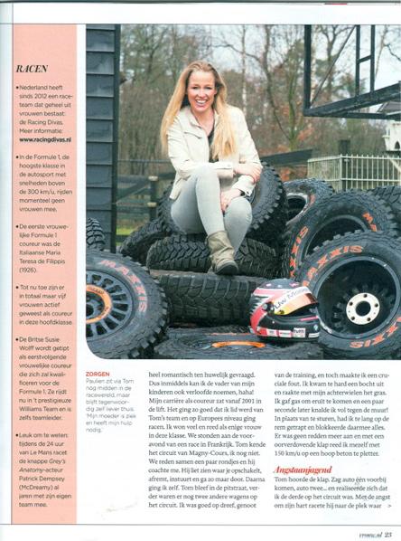 Just Published | Paulien Zwart voor VROUW Telegraaf