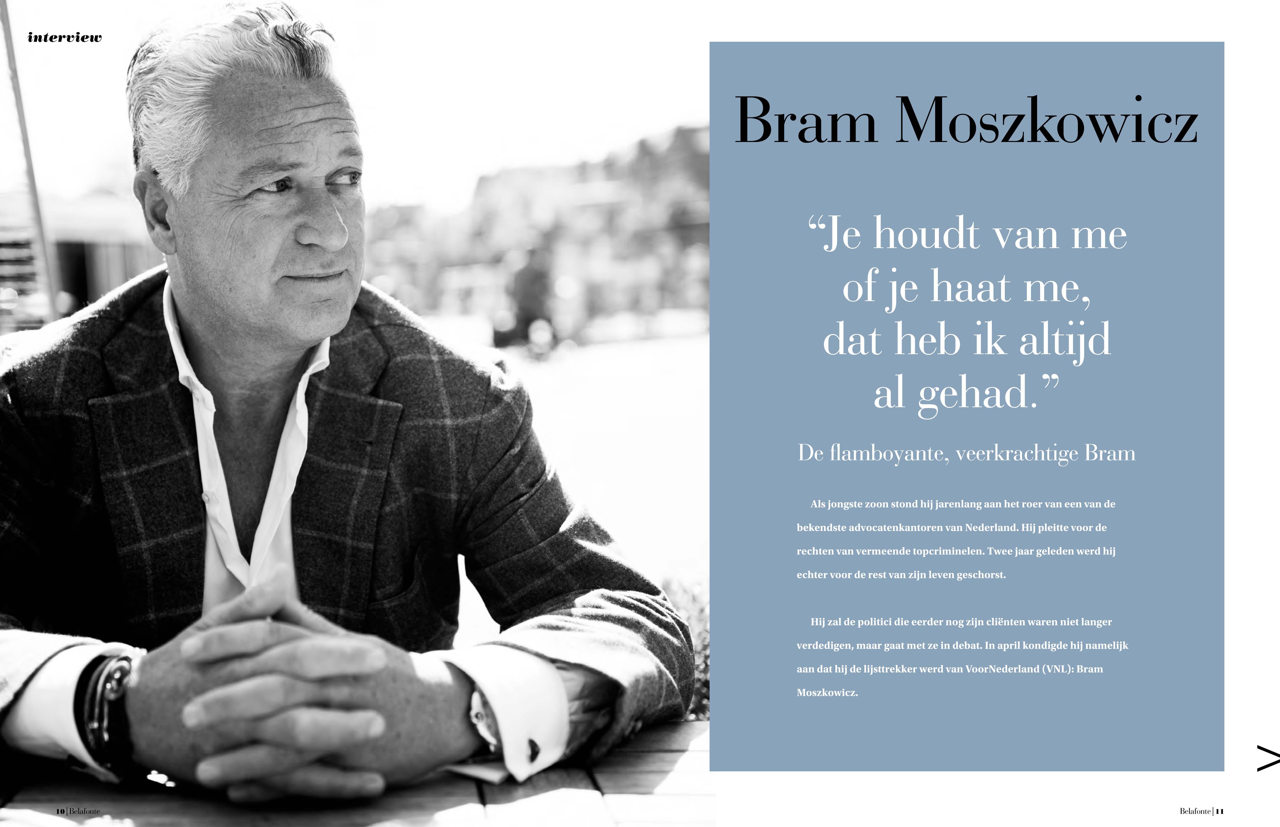 Just Published | Bram Moszkowicz