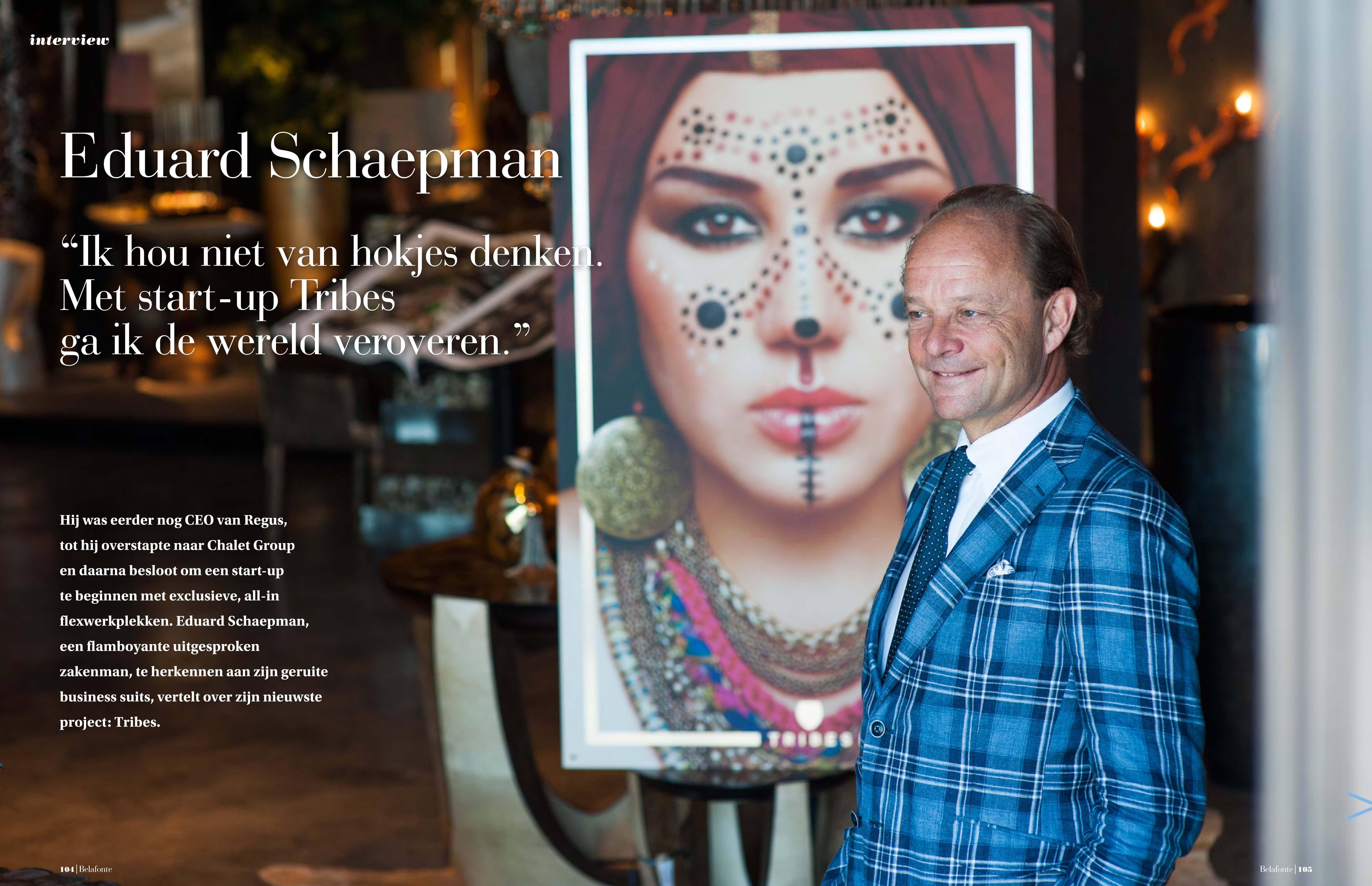 Eduard Schaepman | Belafonte Magazine