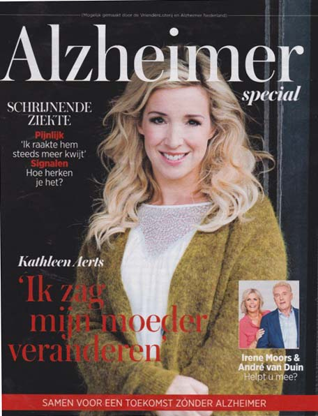 Just Published | Alzheimer Special| VROUW (Telegraaf)
