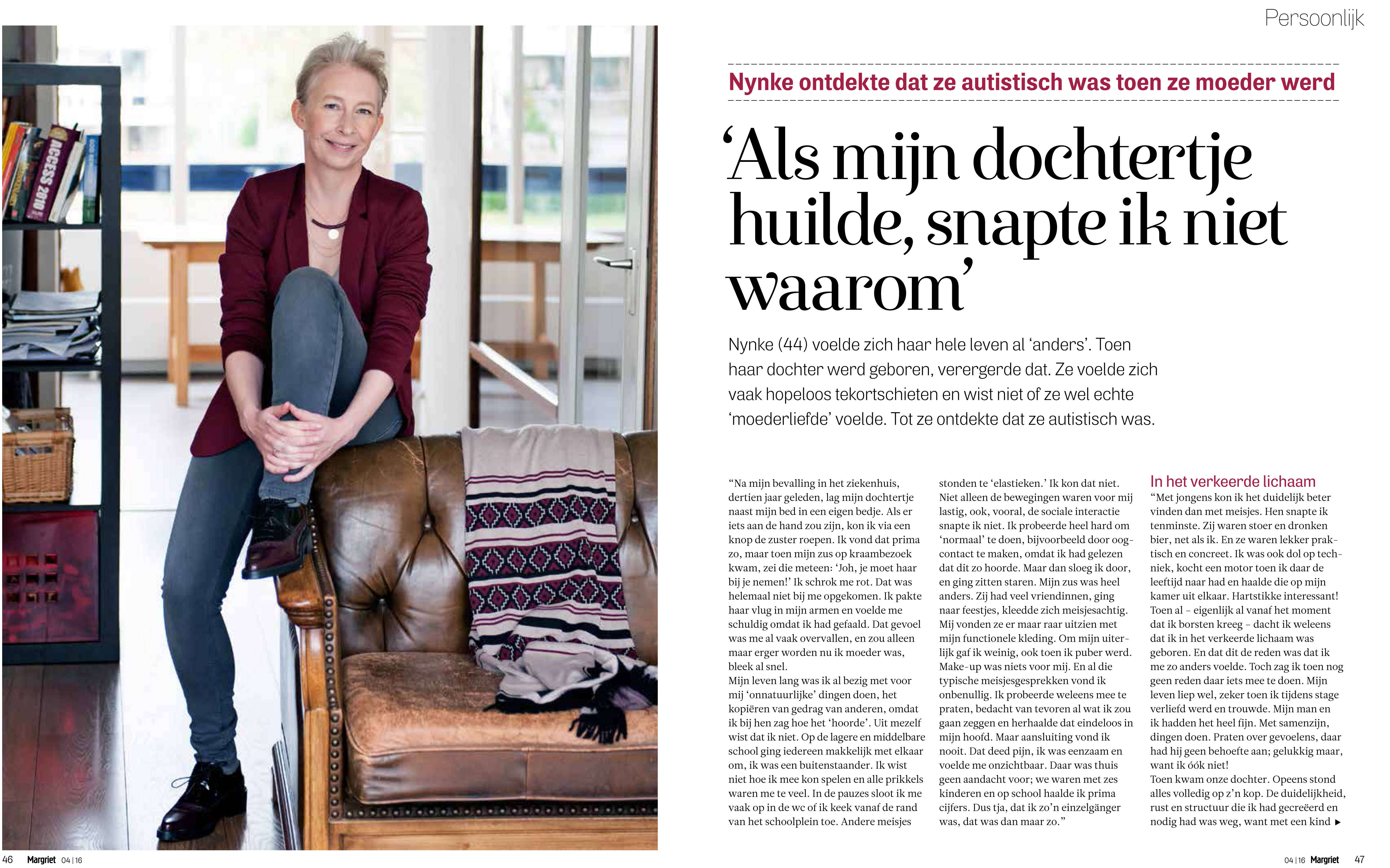 Just Published | Nynke van der Beek | MARGRIET