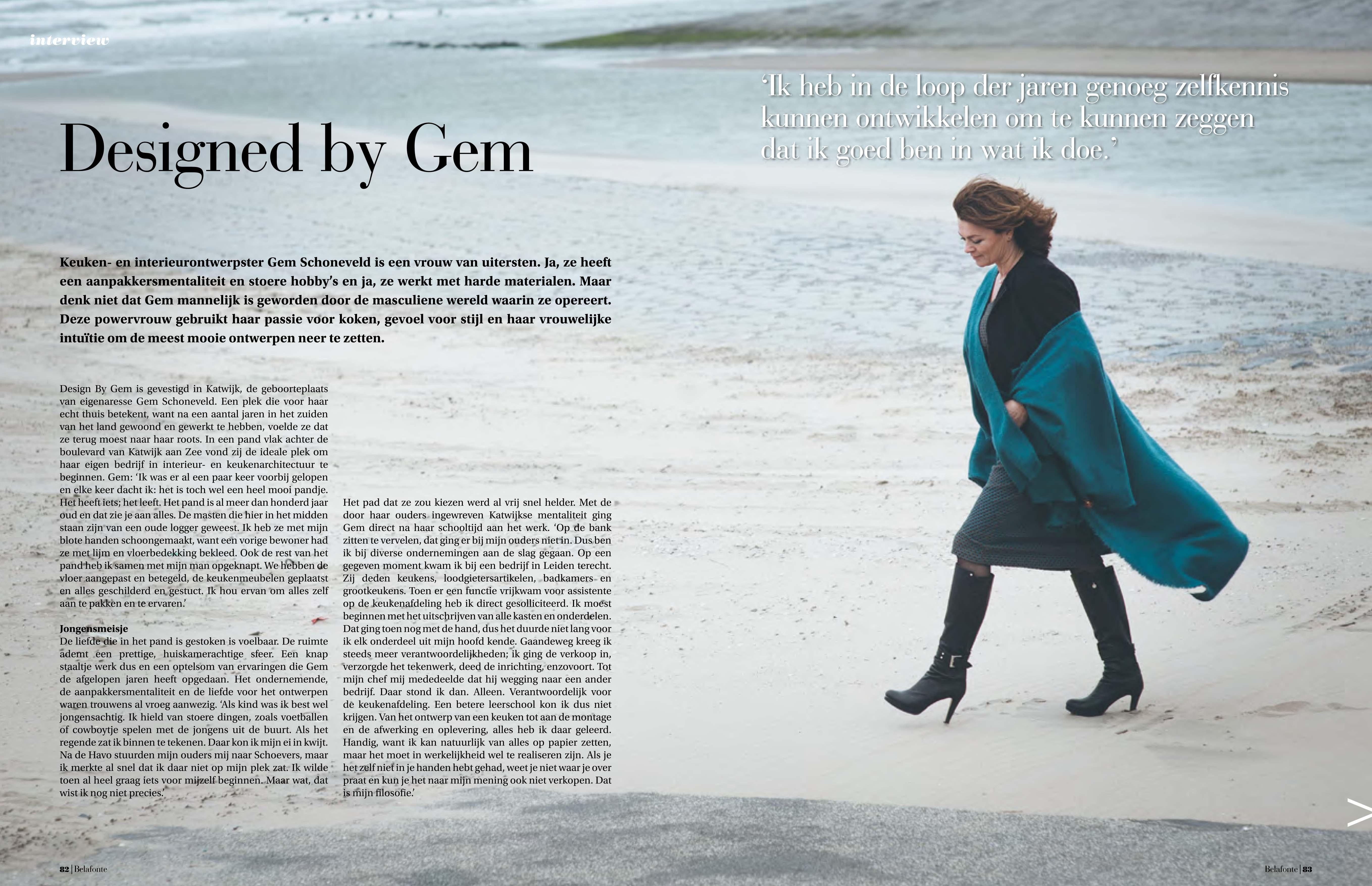 Designed by Gem | Belafonte Luxury Magazine