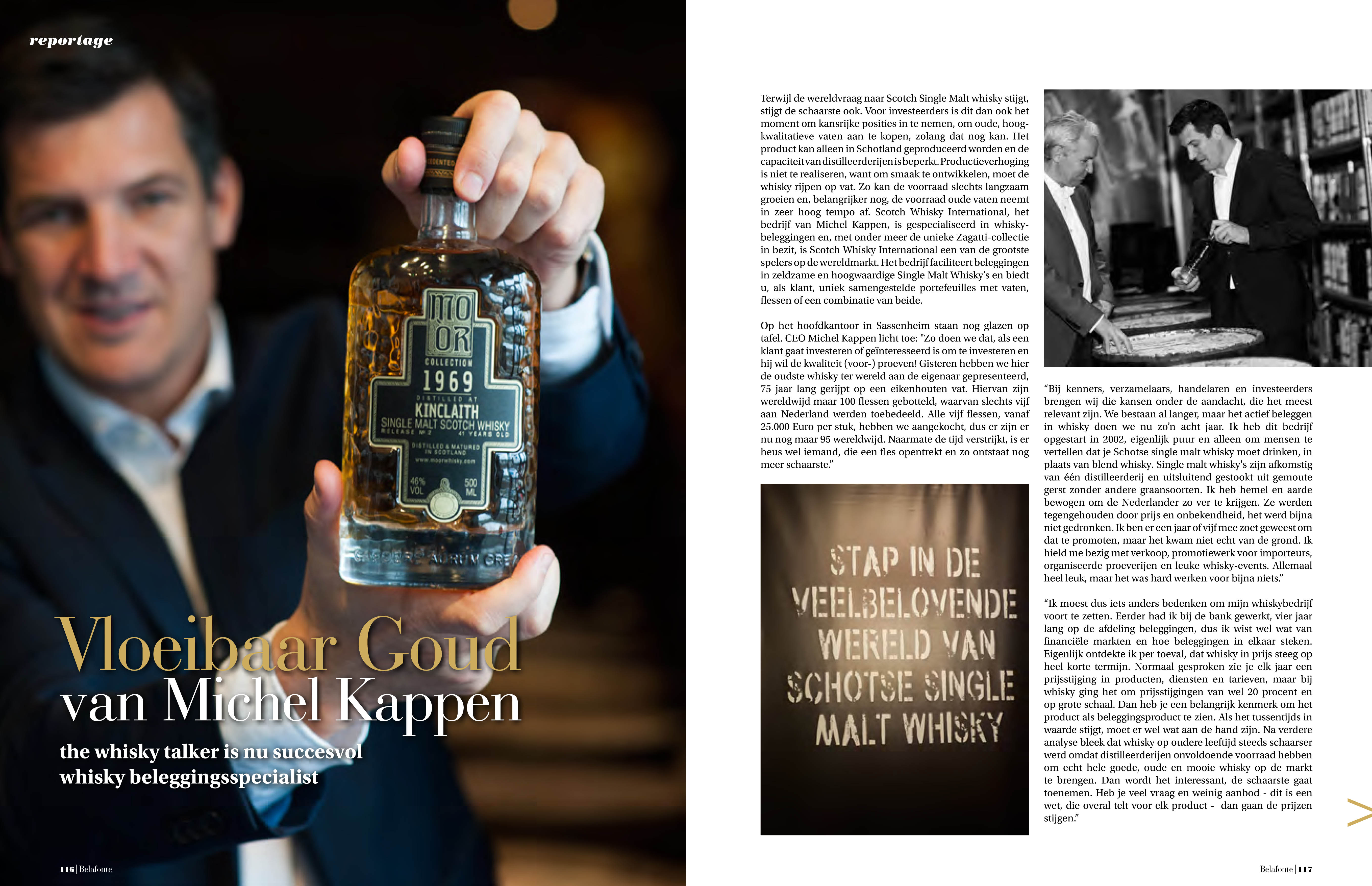 Scotch Whisky International | Belafonte Luxury Magazine