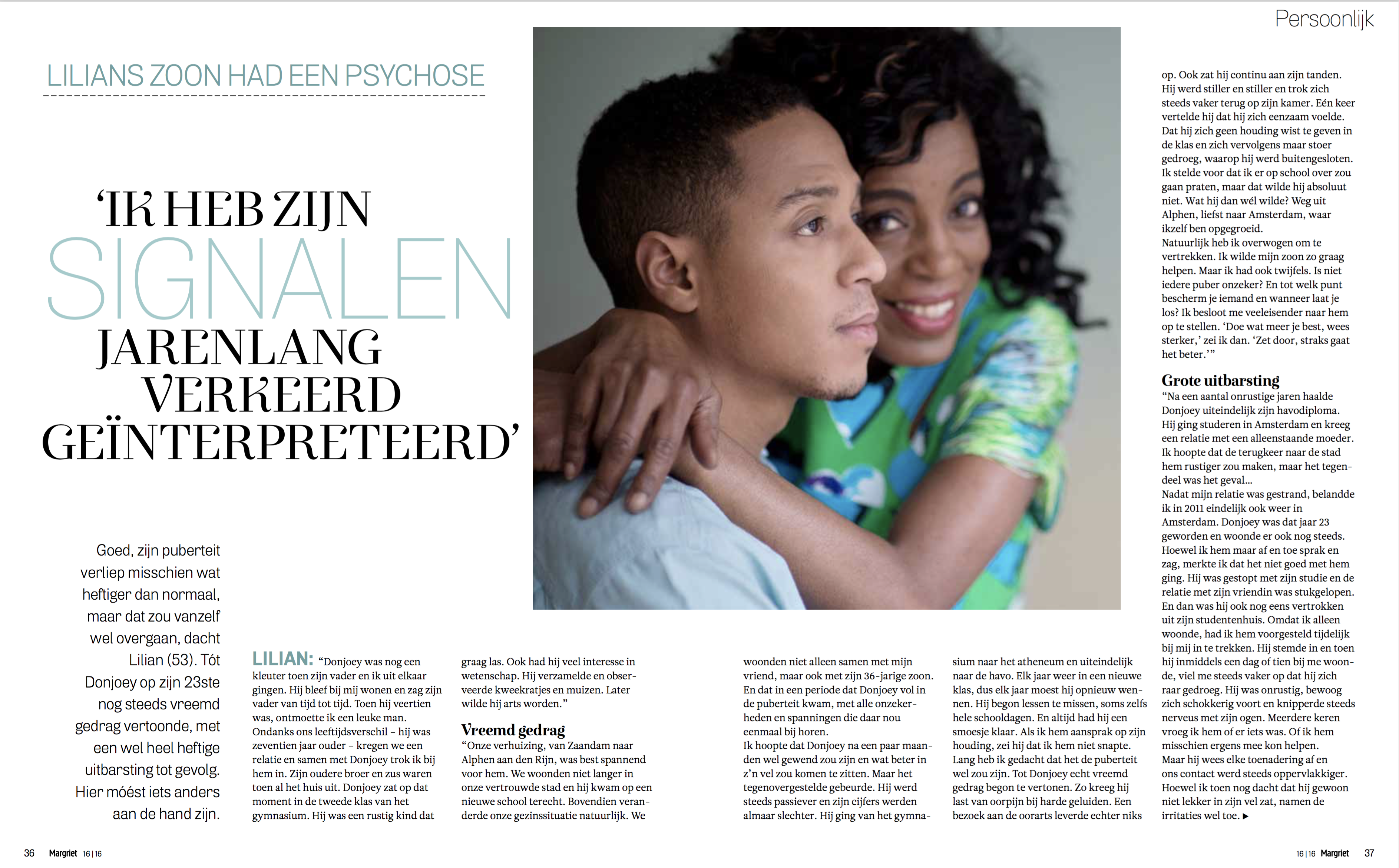 Just Published | Lilian & Donjoey | Margriet