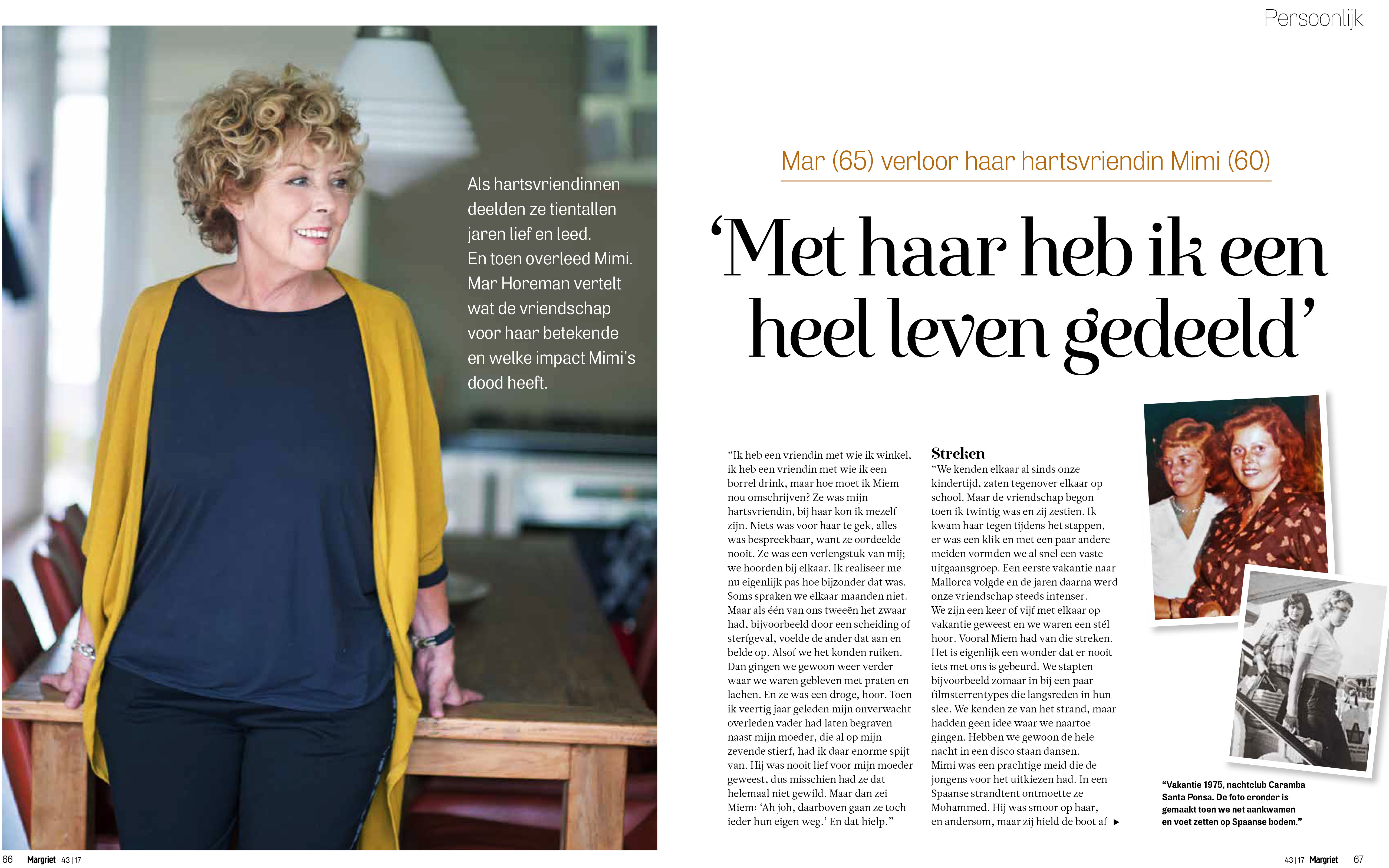 Just Published | Mar verloor haar hartsvriendin | MARGRIET