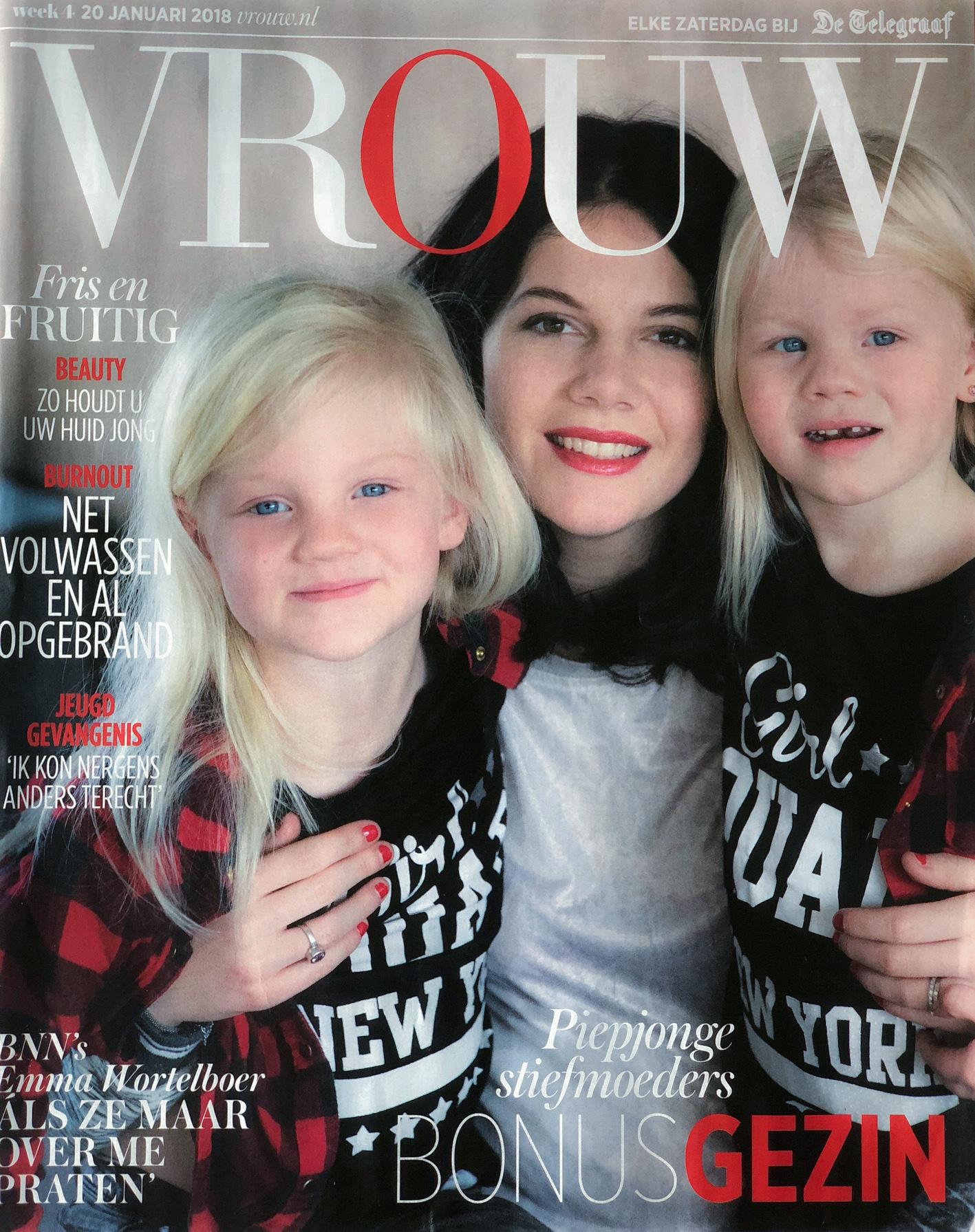 Just Published | Jonge Stiefmoeders | VROUW (Telegraaf)