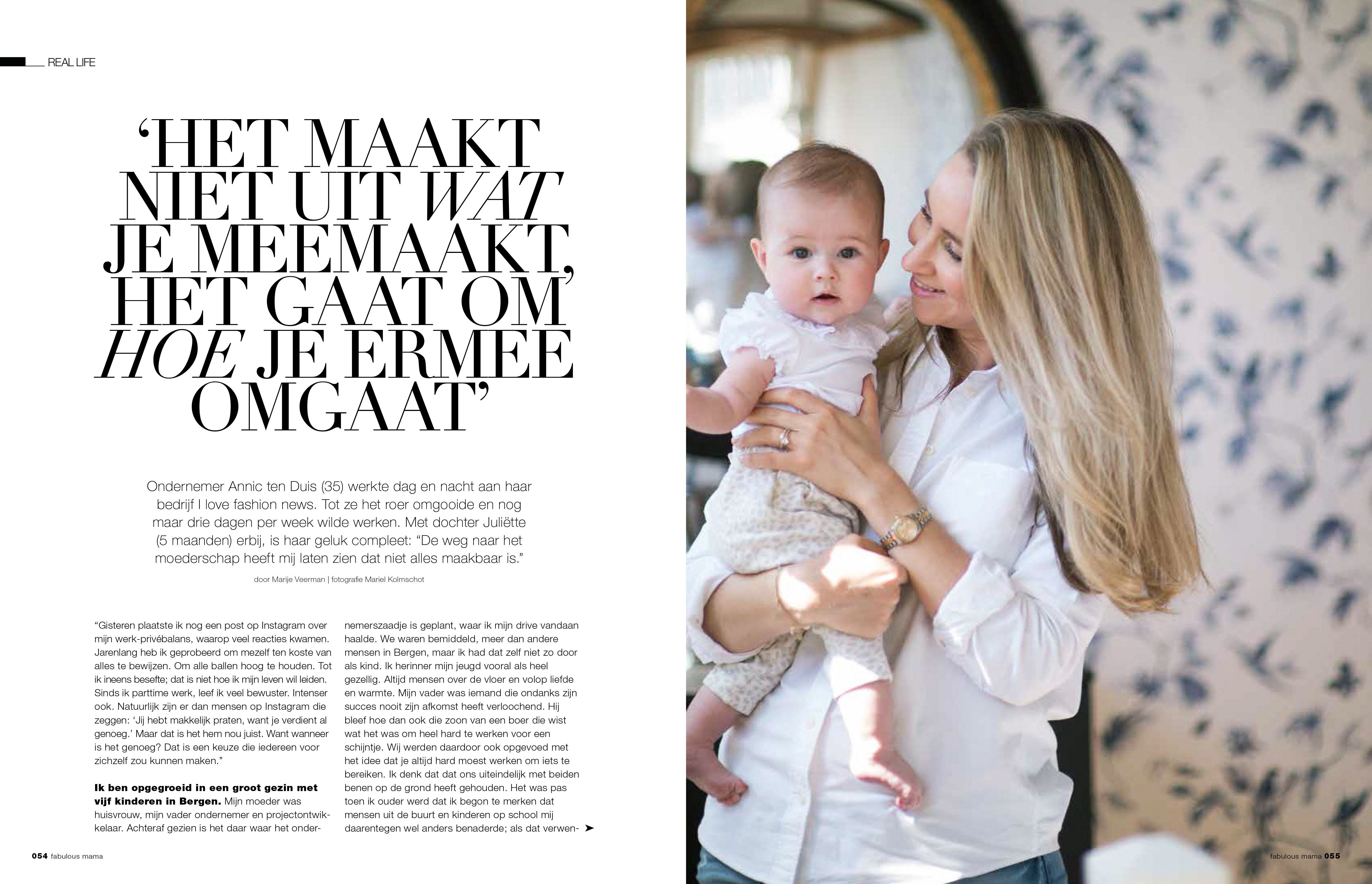 Just Published | Annic ten Duis | Fabulous Mama