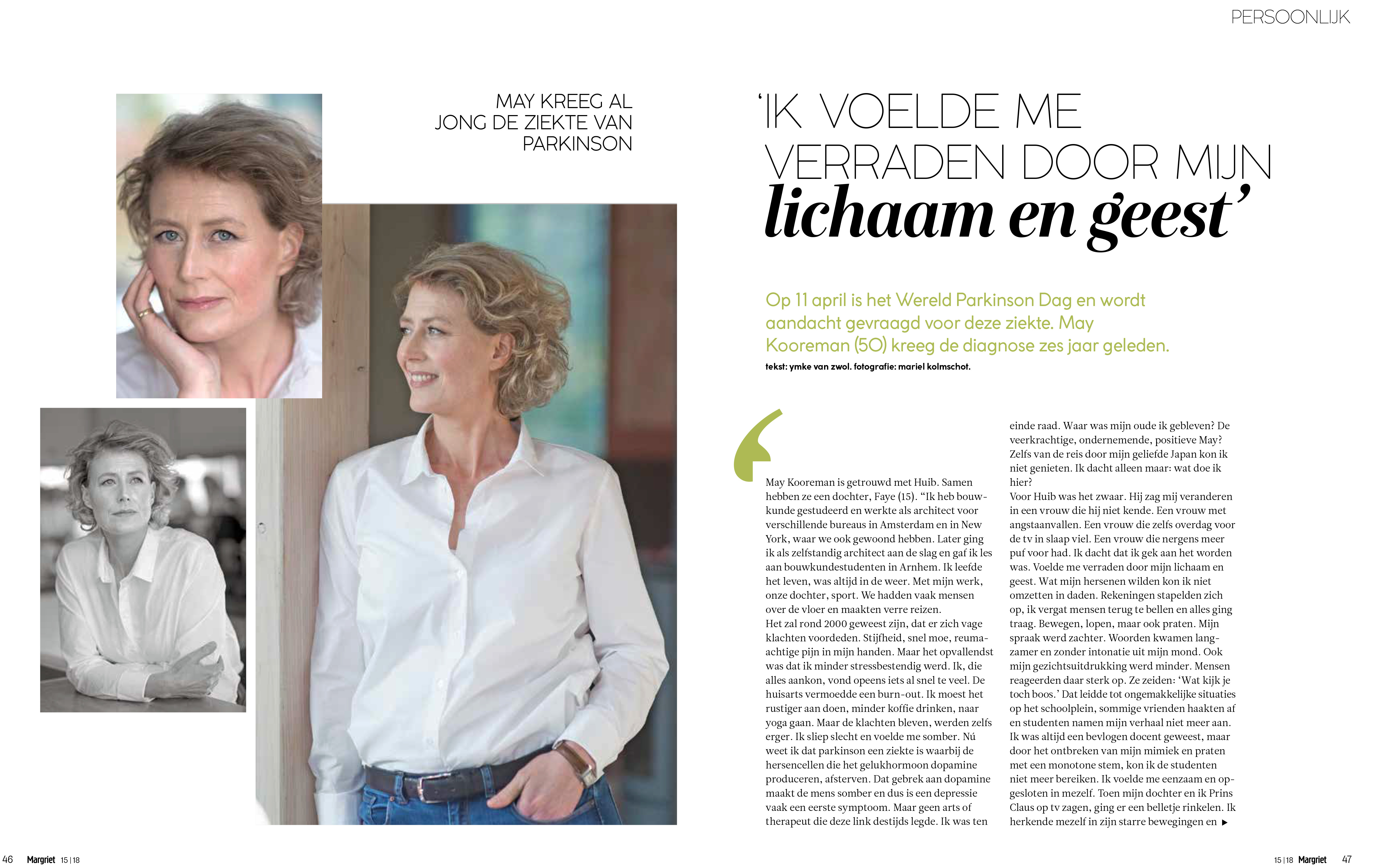 May Kooreman | MARGRIET | Maysways