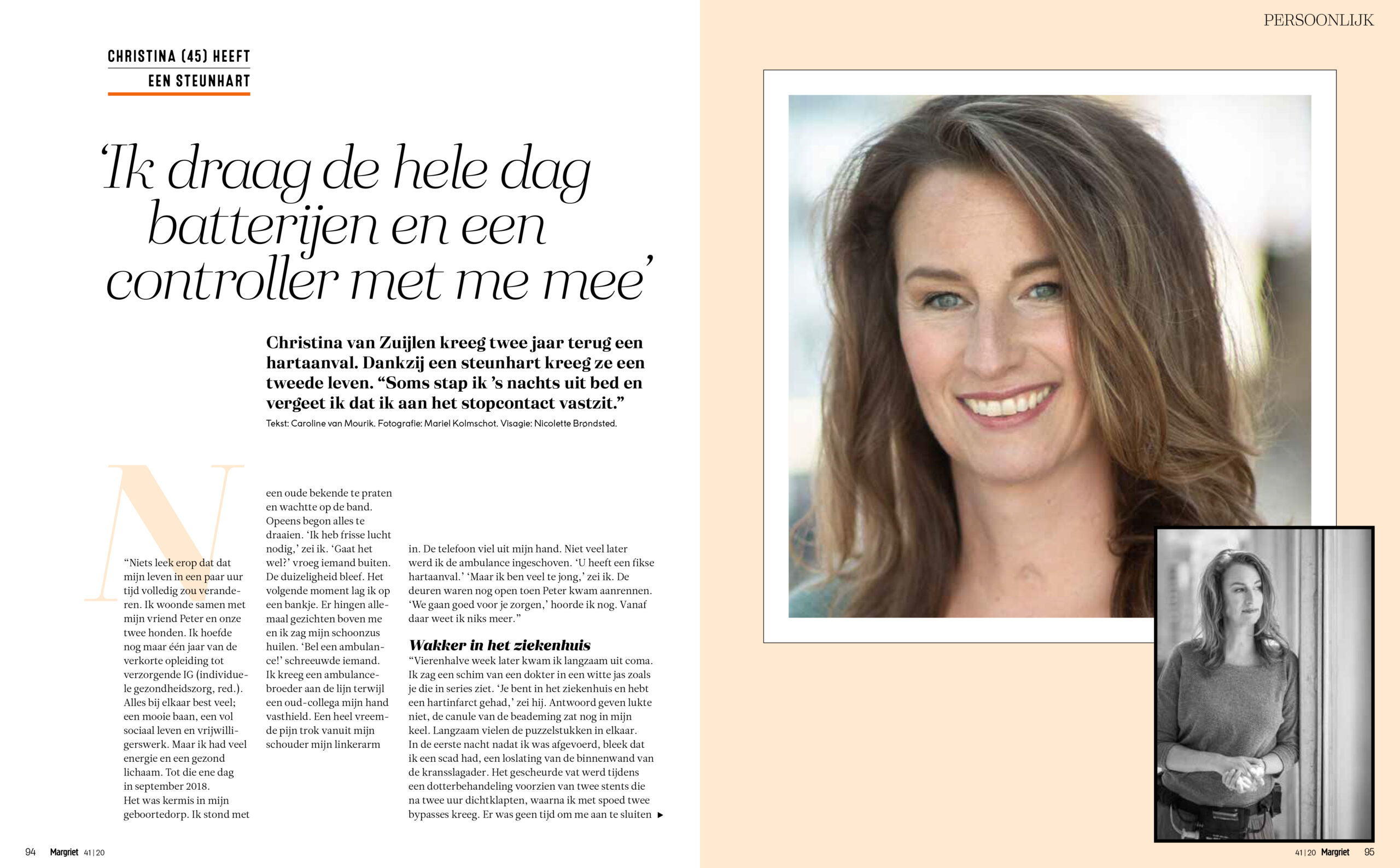 Christina heeft een steunhart | Just published |Margriet